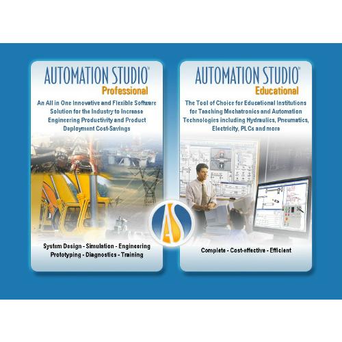 Automation Studio Educational CAD és szimulációs szoftver