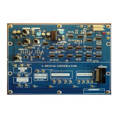 DCTK-1000 digitális kommunikáció oktató áramkörök