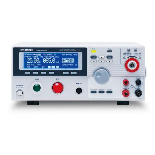 GOODWILL GPT-9804/9803/9802/9801 Átütésvizsgáló / szigetelési ellenállásmérő / védőcsatl. tesztelő