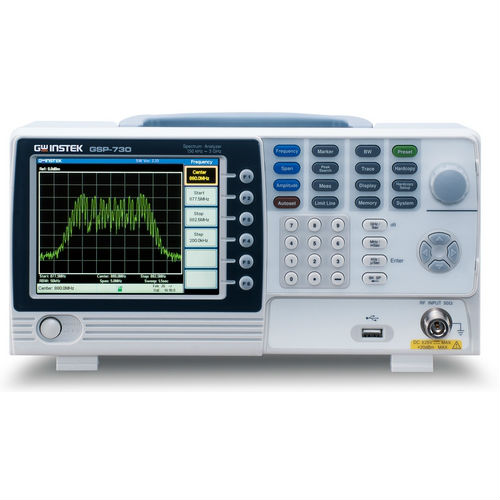 GOODWILL GSP-730 Spektrumanalizátor 3GHz és GRF-1300 kommunikációs tréner