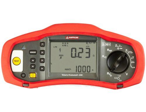 Amprobe ProInstall 100 / 200 univerzális érintésvédelmi műszer
