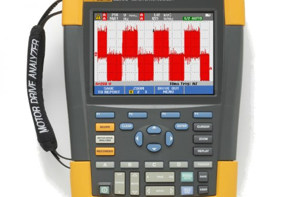 Fluke MDA-510/ MDA-550 villamos motor analizátor